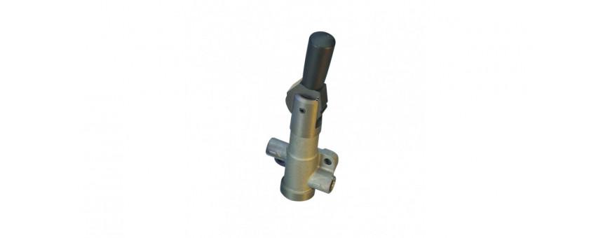 Répartiteur de frein à levier ou molette.