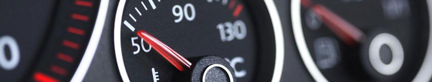 Manomètre de pression de turbo, température huile, échappement STACK
